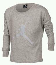 Nike Air Jordan Girls Jump-man Reflect On This Long-Sleeve Shirt Size 4