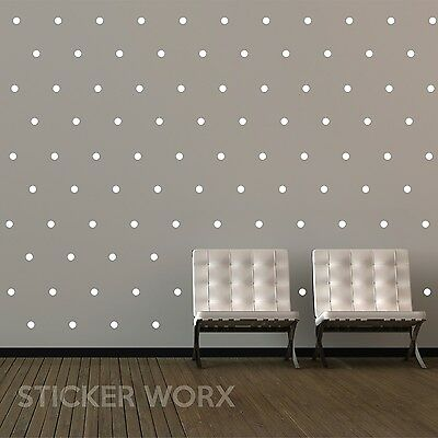 Polka Dot Wall Stickers, wall decals, wall art