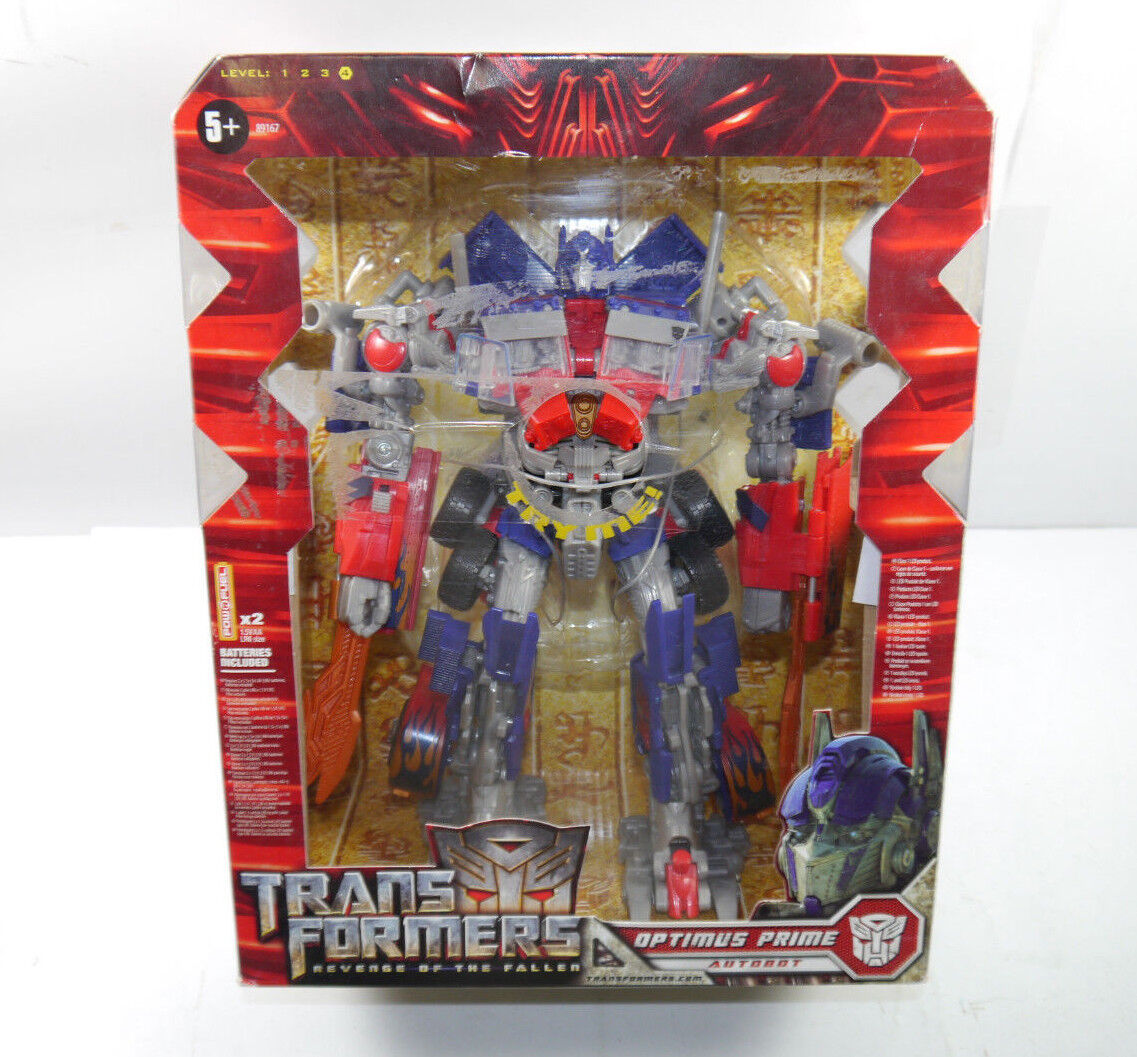 Transformers Revenge Of The Fallen - Optimus Prime avec Sound + Lumière Hasbro