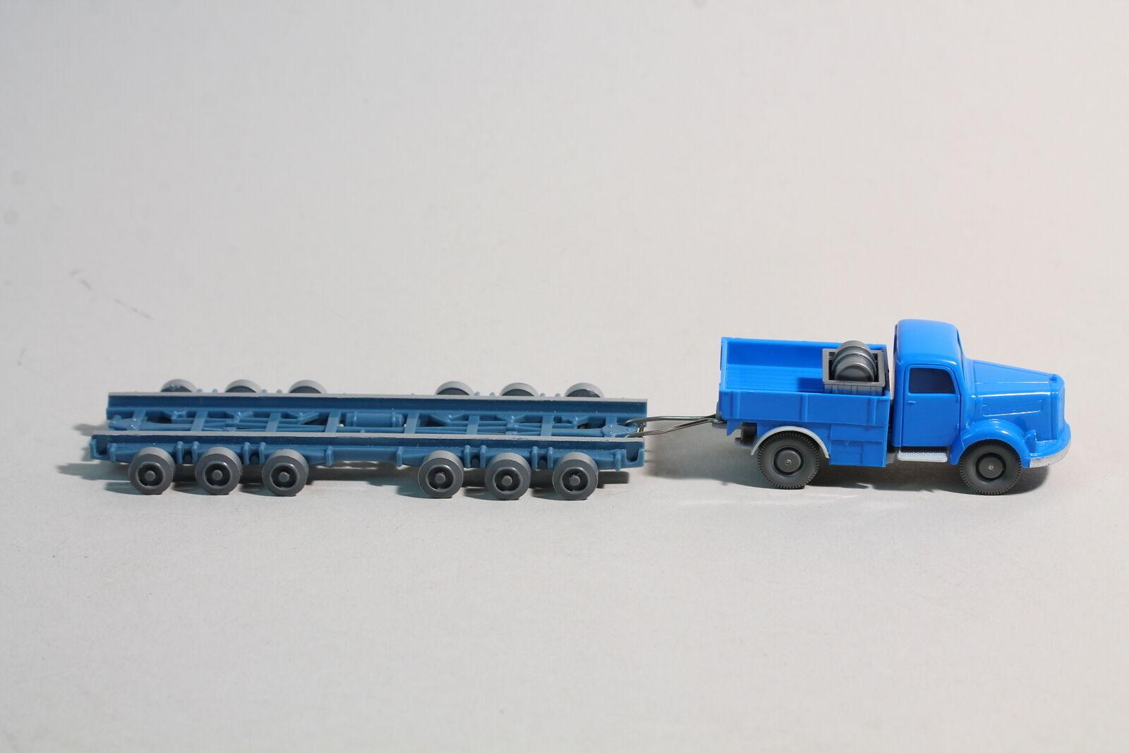 916 Type 2 A Wiking routes Roller MB 3500 sans rampe 1962 - 1964 Bleu ciel