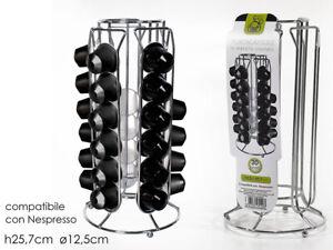 Vilys House Soporte dispensador para capsulas de caf/é 30 capsulas distribuidas en Distintas columnas