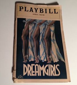 Playbill-Dream-Girls-1981-Imperial-Theatre-Sheryl-Lee-Ralph-NYC-Broadway-Theater