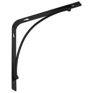 1x Bow Simple Shelf Holder Shelf Carrier Shelf Angle Shelf Bracket Angle