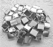 Yk * 100 Azulejos de Mosaico de Vidrio Espejo 10mm X 10mm X 3mm de espesor