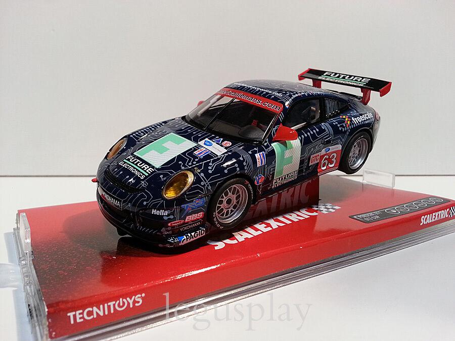Slot SCX Scalextric A10037S300 Porsche 911 GT3 CUP Richard Nº63