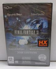 Computer Gioco Game PC DVD-ROM Play - FINAL FANTASY XI 11 2008 Edition - Square