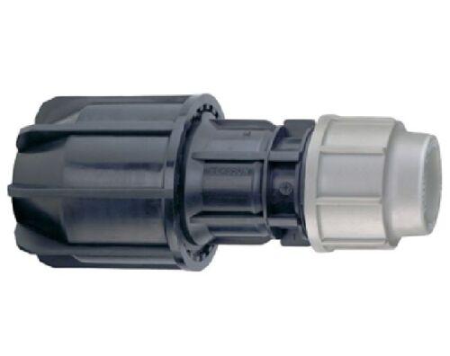 Plasson 25mm x 20mm Plass4 MDPE UTC 27mm other pipe universal coupling