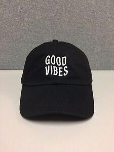 b0772f0c3 Details about GOOD VIBES Hat dad hat hipster emoji coachella unif tumblr  cap supreme fashion