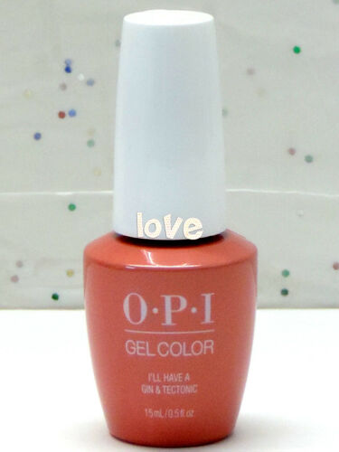 OPI GelColor Brand New Polish Soak Off UVLED I61 I'll Have A Gin & Tectonic