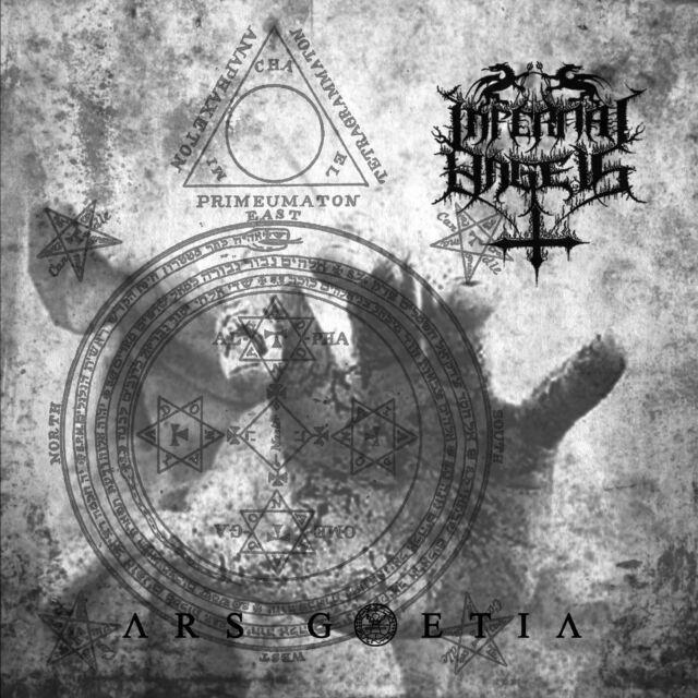 """INFERNAL ANGELS """"Ars Goetia"""" CD - Death Black Metal (SEALED)"""