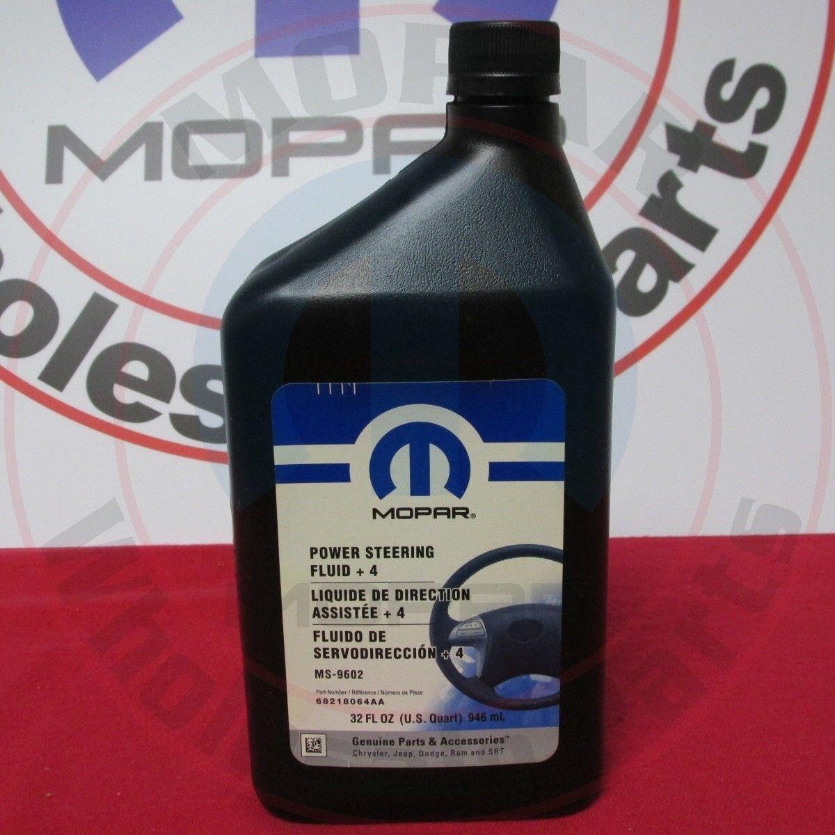 Genuine Mopar Fluid +4 Power Steering Fluid