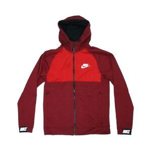 Sweat Advance 15 NikeCapuche Foncᄄᆭ Et Zip Rouge Et cRqS54j3AL