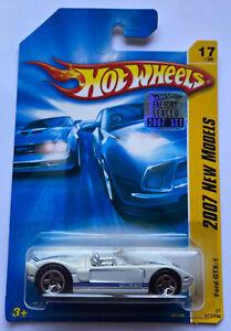2007 HOTWHEELS FORD GTX-1 GT GT40 Nuovo di zecca! molto rara!