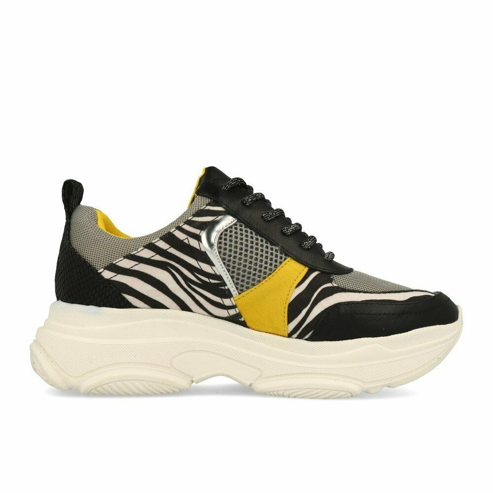 La La La strada 1818139 scarpe da ginnastica Combi Zebra Donna Scarpe scarpe da ginnastica Nero Bianco ea7f0c