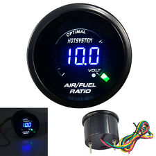 "2"" 52mm 20 LED Digital Turbo Air Fuel Ratio Gauge Meter Black Universal"
