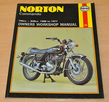 Norton Commando 1968 - 1977 Reparaturanleitung Haynes Owners Workshop Manual