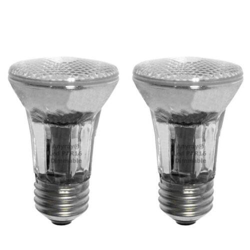 2-Bulbs PAR16 LED Bulb Red Color Flood Light E26//E27 Base Indoor//Outdoor Anyray
