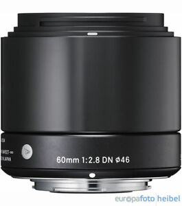 Sigma-60mm-f2-8-DN-Objektiv-MFT-schwarz-Micro-Four-Thirds-MFT-Objektivbajonett