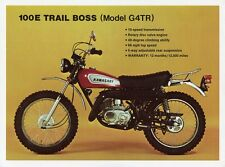 1970 KAWASAKI G4TR TRAIL BOSS VINTAGE MOTORCYCLE POSTER 27x36