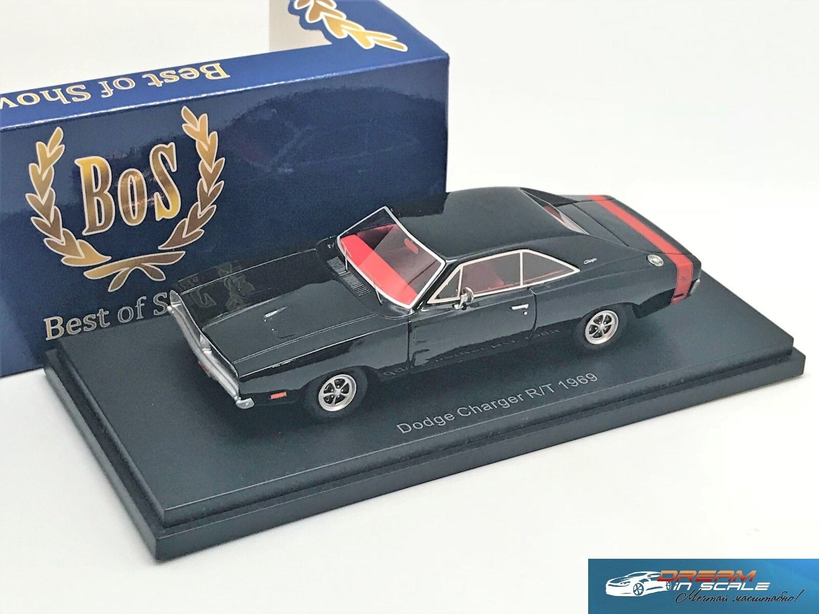 Dodge Charger R T 1969  BOS-MODELS BOS43665 1 43