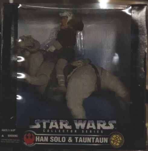 Vtg 1997 Han Solo /& Tauntaun 12 Inch Star Wars Collector Series Kenner Sealed