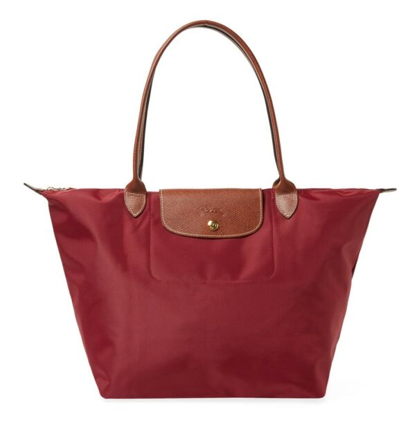 Large Le Pliage Shoulder Nylon Tote Bag