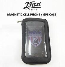 Cell Phone Case Holder Motorcycle Magnetic Gas Tank Holder Mount Harley Davidson