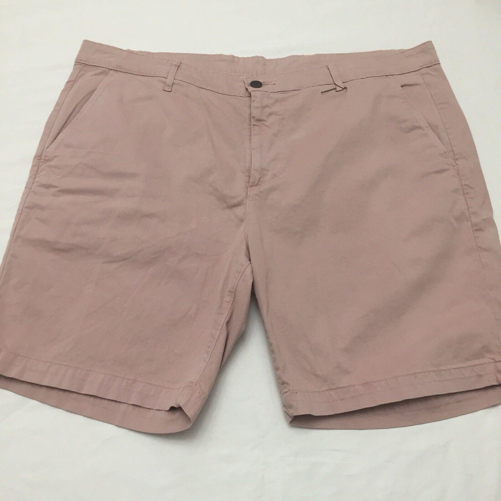 AG Wanderer Modern Slim Trousers Shorts Mens 40R Pink