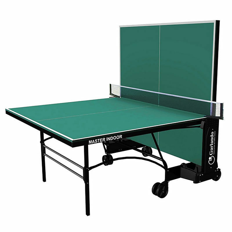 Ping Ping Ping Pong Master Indoor Garlando con piano verde o Blu Accessori inclusi 997725