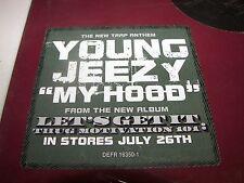 "Young Jeezy My Hood 12"" Single NM PROMO Def Jam DEFR16350-1 2005"