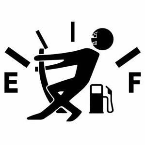 Adesivo-sticker-omino-alza-LANCETTA-BENZINA-carburante-auto-car-tuning-NERO