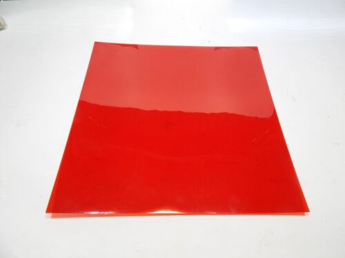 """Blue and Green Acetate Transparent Sheets in Red 10.5/""""x10.5/"""" 3 per pkg."""