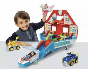 Paw Patrol: Mighty Jet Command Center (Mighty Pups Super Paws) [Toy]