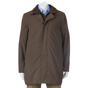 Men's Savile Row Edgar Classic-Fit All-Weather Coat MSRP