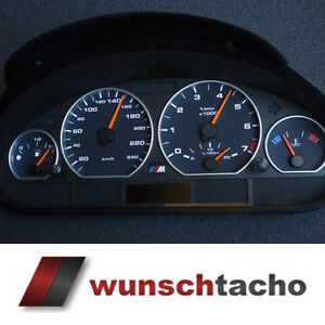 tacho disc for speedometer bmw e46 petrol black 250kmh. Black Bedroom Furniture Sets. Home Design Ideas