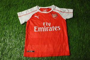 3a23ec607 ARSENAL LONDON 2015 2016 FOOTBALL SHIRT JERSEY HOME PUMA ORIGINAL ...