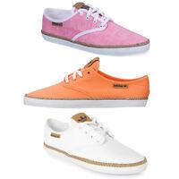 Adidas Original Adria Plimsole Womens Espadrille Shoes Canvas Low Trainers