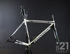 2015 Cannondale SuperSix EVO Di2 Frameset - 52cm White/Black