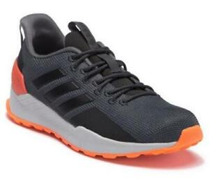 quality design buying new no sale tax Details about Adidas Questar Men's Trail Running Shoes Dark Gray Orange  Athletic BB7383