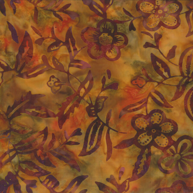 MODA Fabric ~ XANADU BATIKS ~ (4324 18) Sunrise - by the 1/2 yard