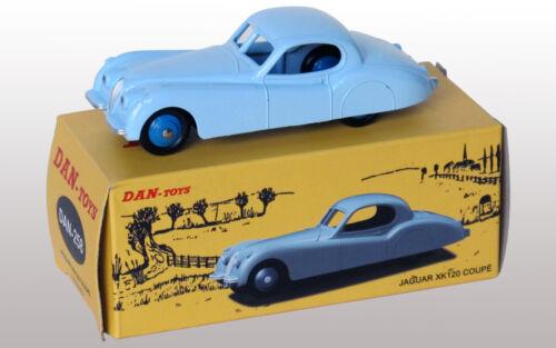 DAN TOYS Jaguar XK120 Coupé Bleu Ciel    Ref.DAN 258