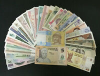 Lot 30Pcs Different Banknotes from 20 Countries Paper Money Collections UNC