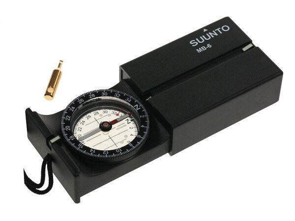 SUUNTO MB-6NH MARSCHKOMPASS, 360 Grad Einteilung Taschenkompass Armeekompass  | Großer Räumungsverkauf