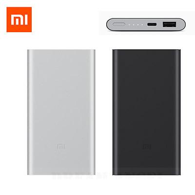 Original Xiaomi Power Bank 2 10000mAh QC2.0 USB External Battery Two-way Charger