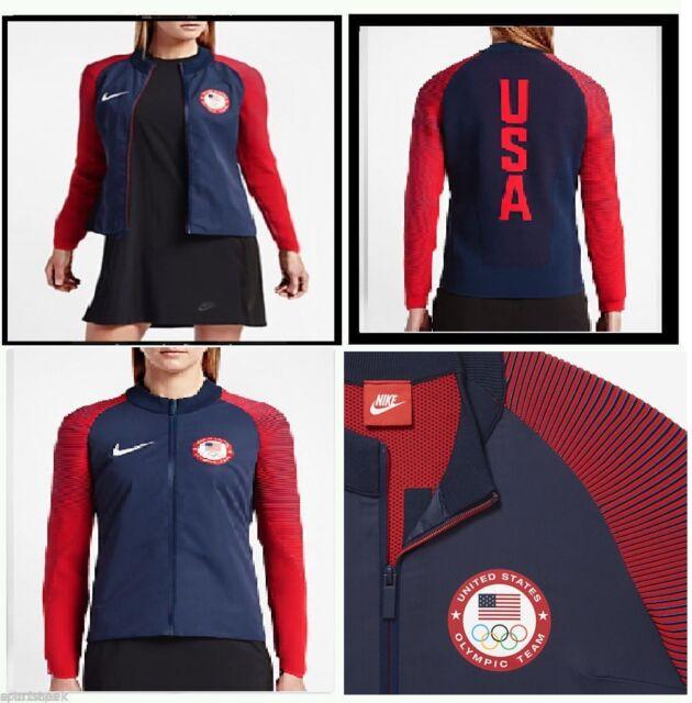 Nike Tech Knit 2016 Team USA Olympic Dynamic Reveal Women s Jacket ... efe207badf