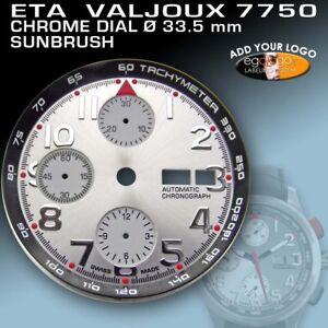 DIAL-FOR-MOVEMENT-ETA-VALJOUX-7750-TACHYMETER-RING-CHROME-SUPER-LUM-33-5mm