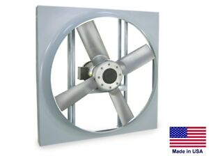 Details about PANEL AXIAL EXHAUST FAN - Direct Drive - 16