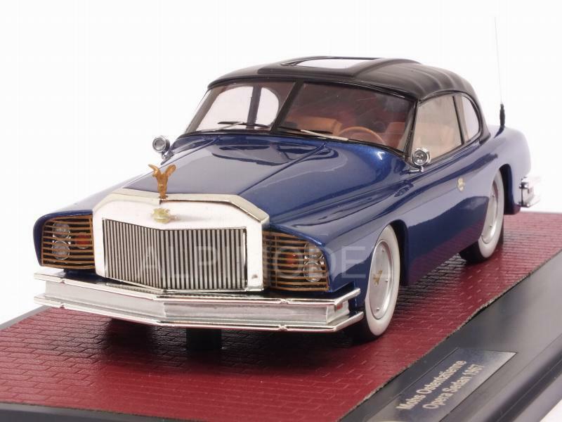 Mohs Ostentatienne Opera Sedan 1967 bleu 1 43 MATRIX MX41306-012