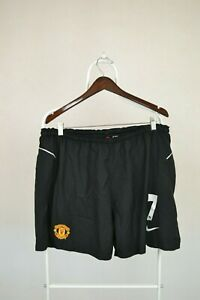 MANCHESTER-UNITED-2003-2004-2005-AWAY-FOOTBALL-SHORTS-NIKE-7-RONALDO-XXL