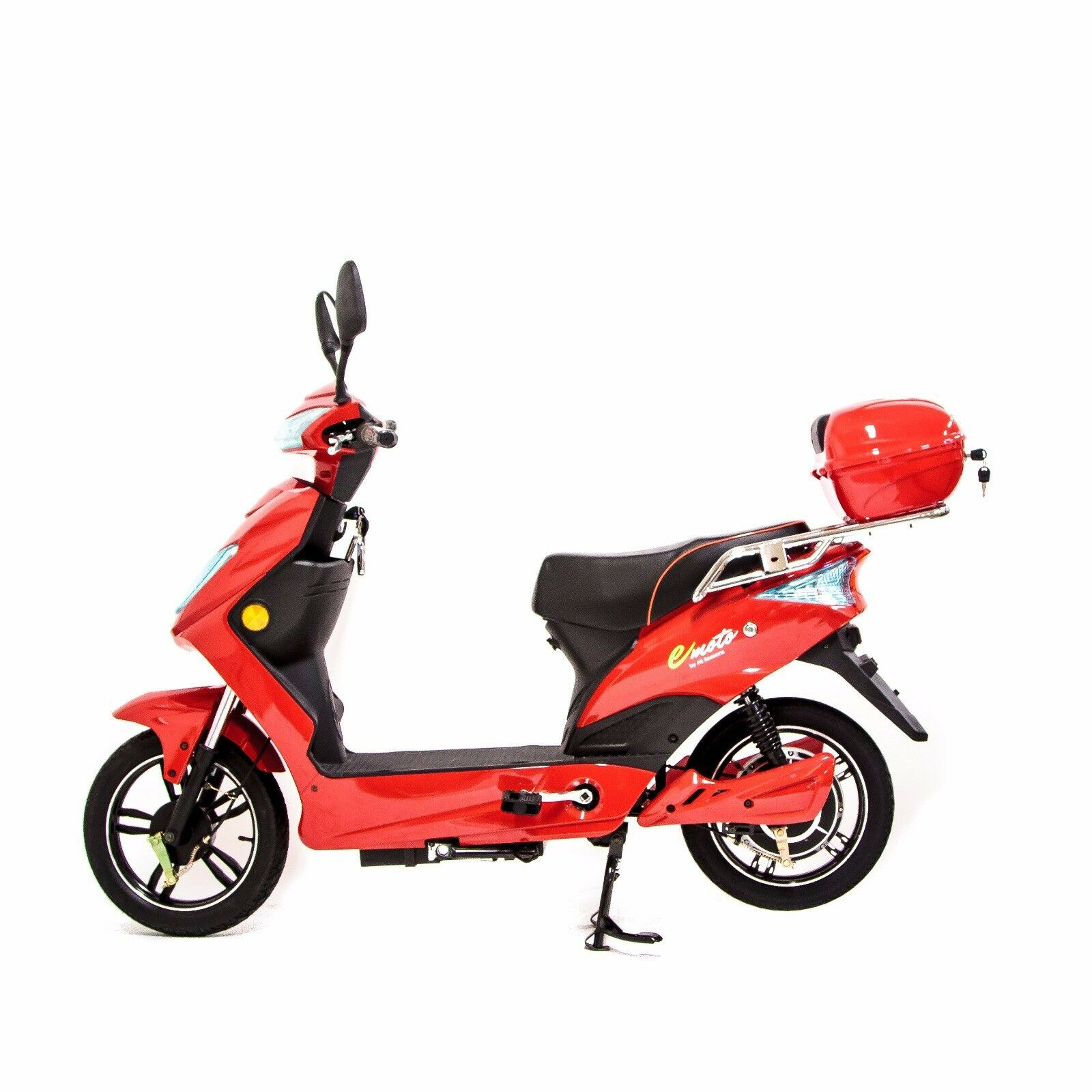Electric Bike Moped Scooter with 48V Lithium Battery  250W Road Legal 2019 Model